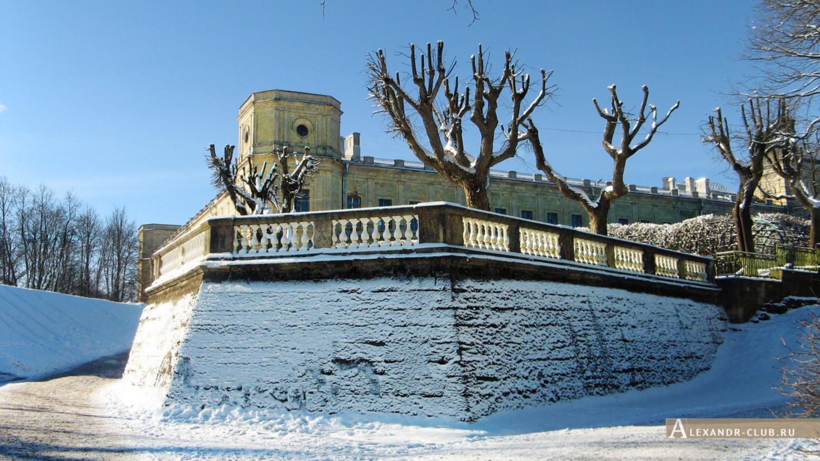 Терраса Собственного садика, Гатчинский парк