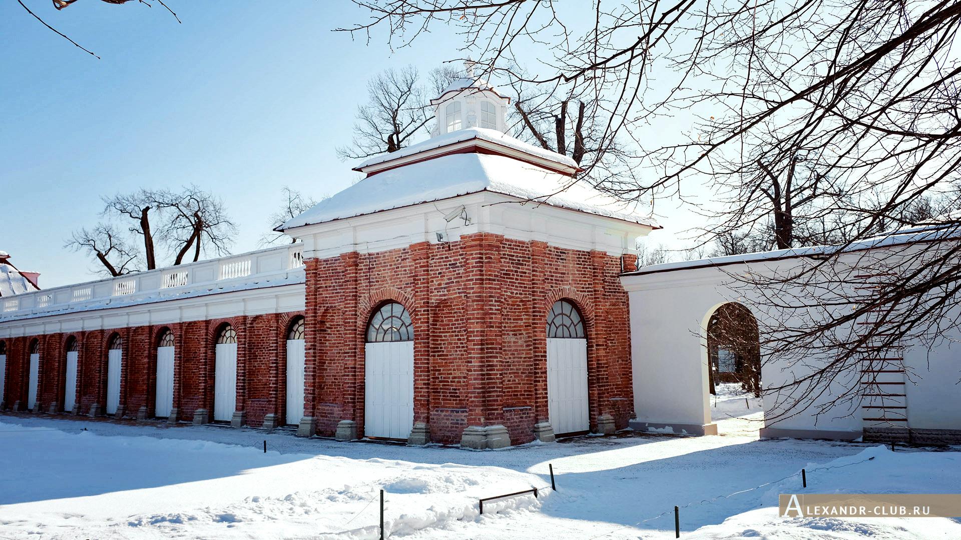Петергоф, зима, Нижний парк, дворец «Монплезир» – 2