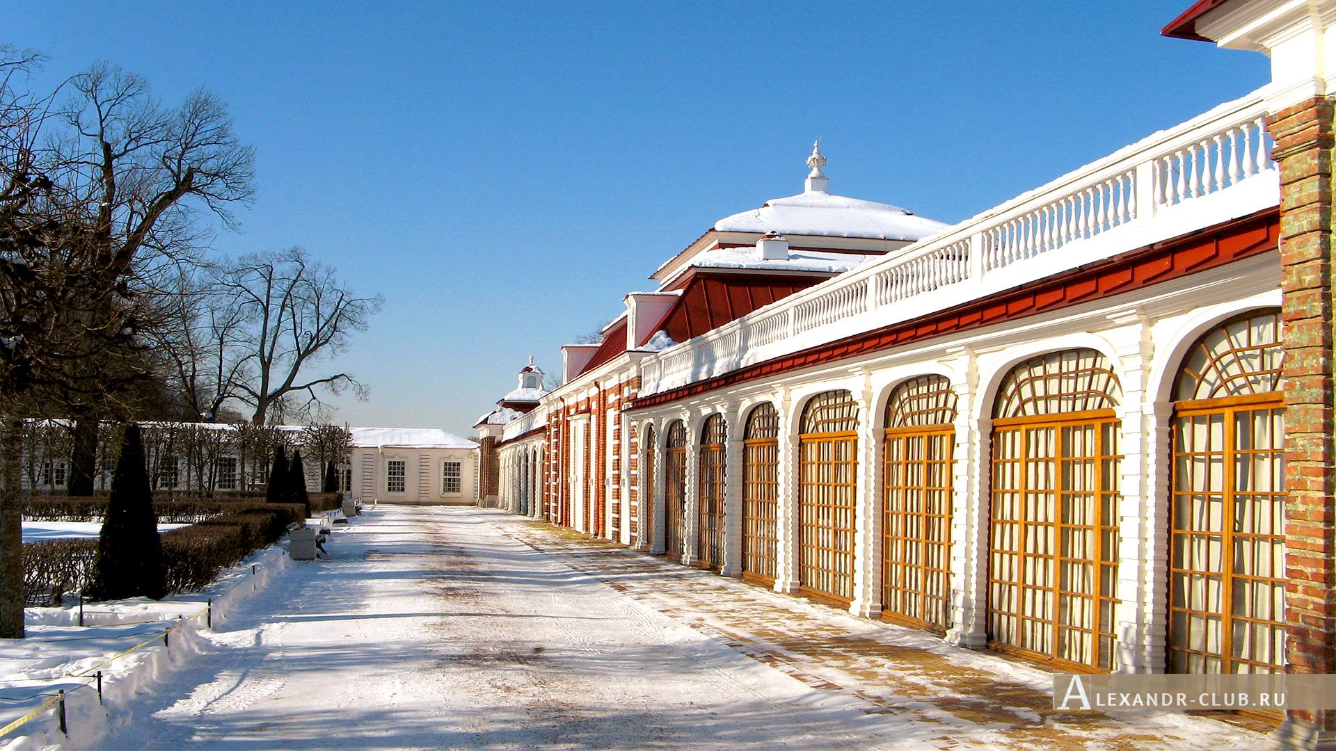 Петергоф, зима, Нижний парк, дворец «Монплезир» – 6