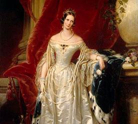 «Портрет императрицы Александры Федоровны», Кристина Робертсон, 1841 г.
