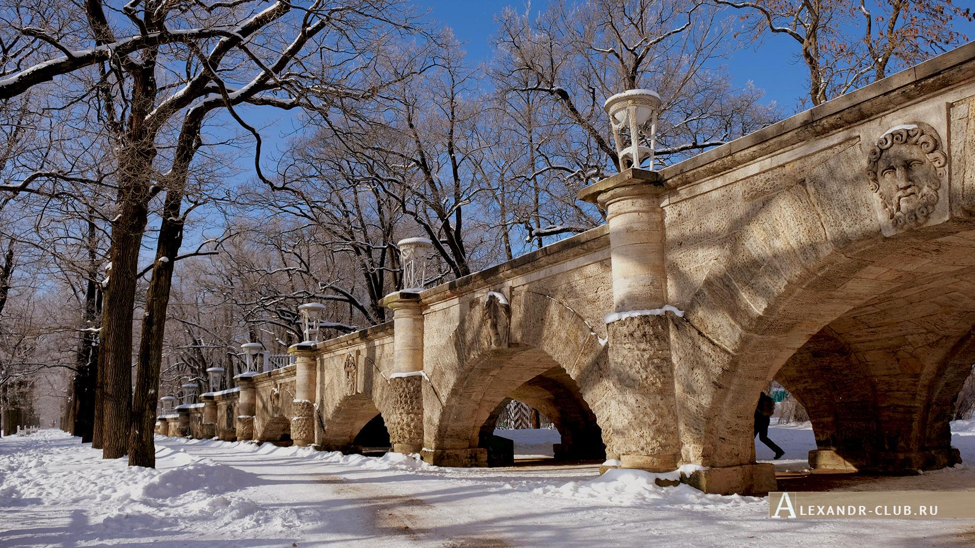 Царское Село, зима, Екатерининский парк, Пандус – 1