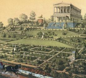 Петр Борель «Дворец Бельведер в Луговом парке»
