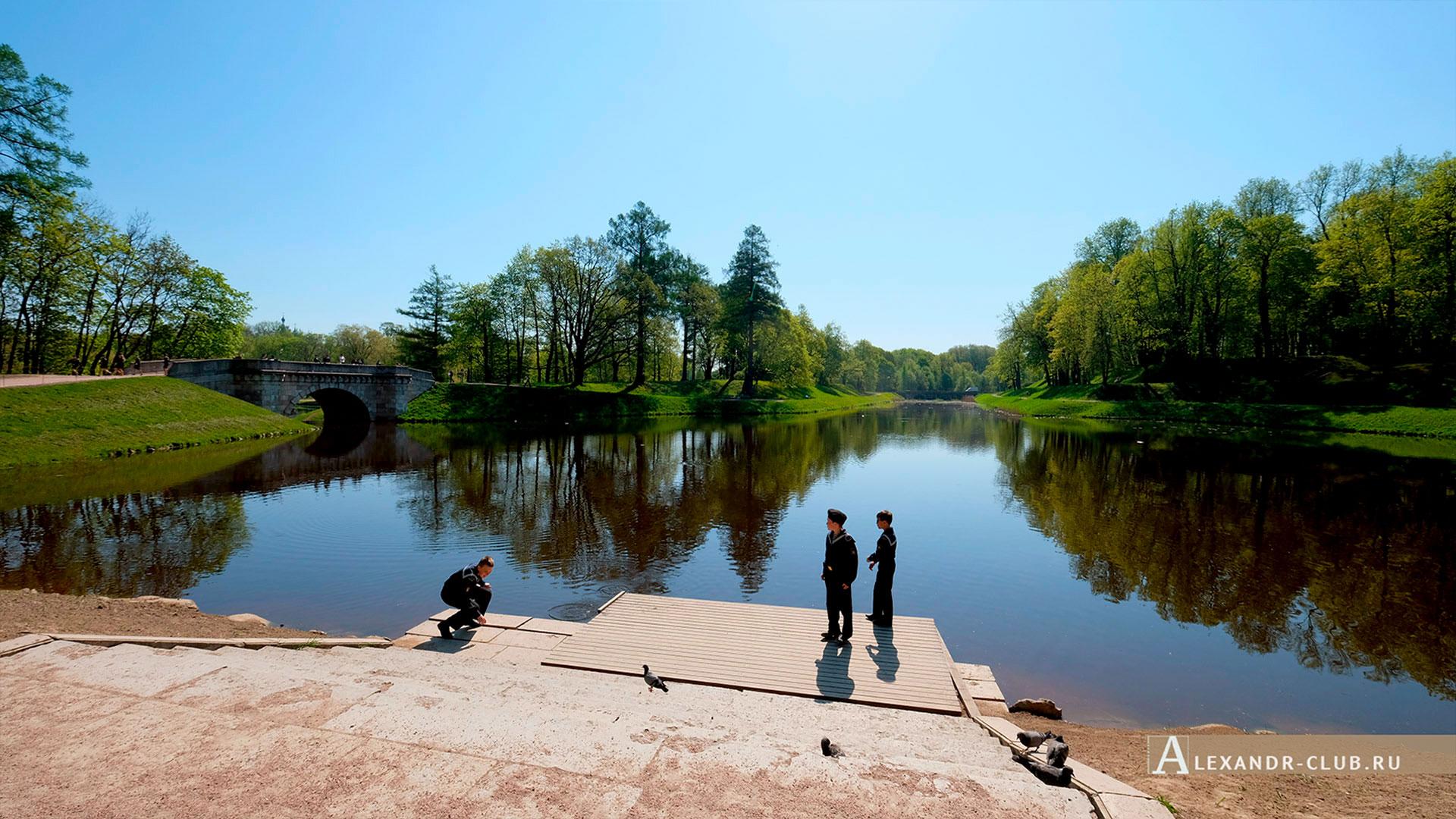 Гатчинский парк, весна, Карпин пруд