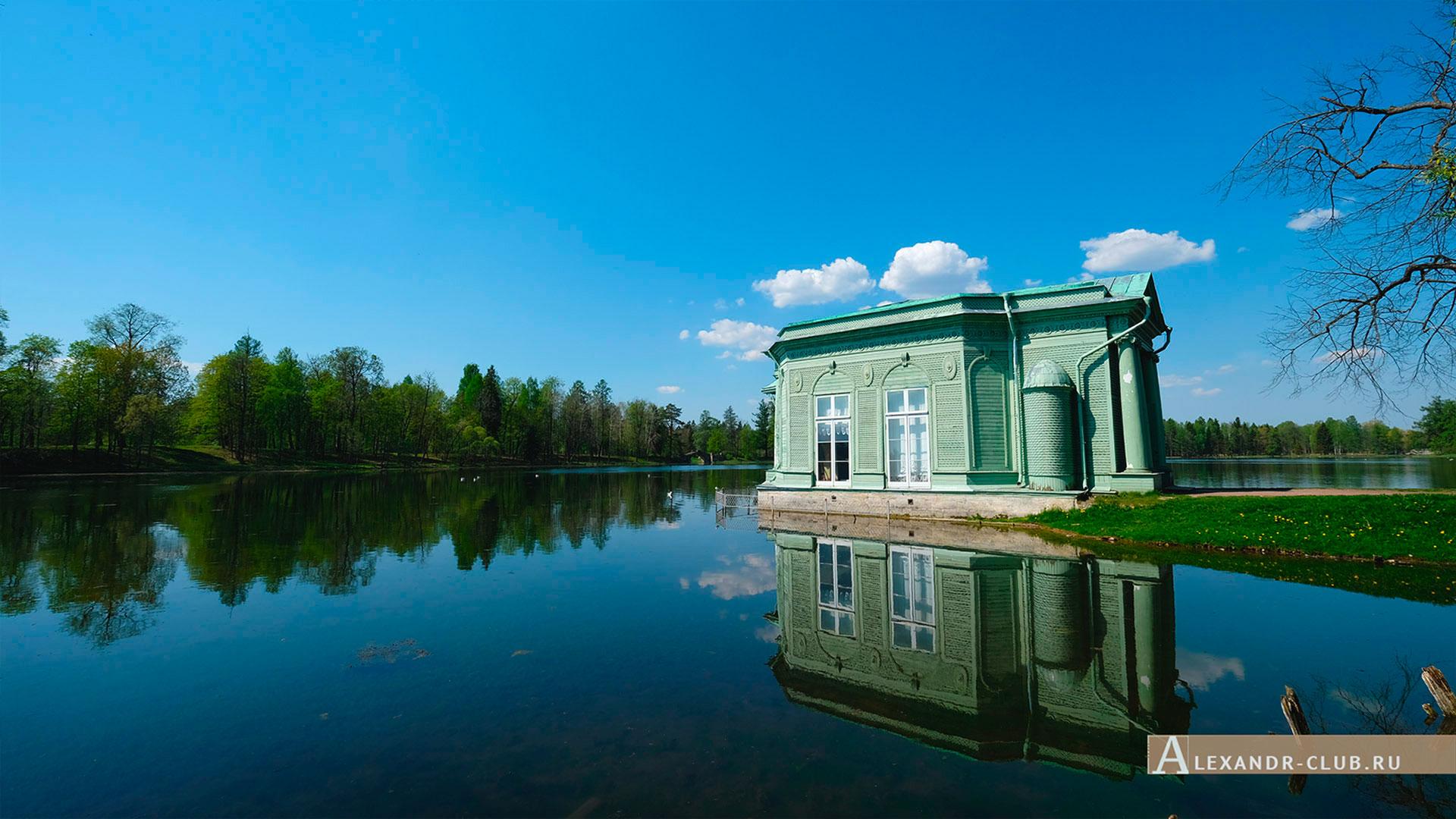 Гатчинский парк, весна, Павильон Венеры