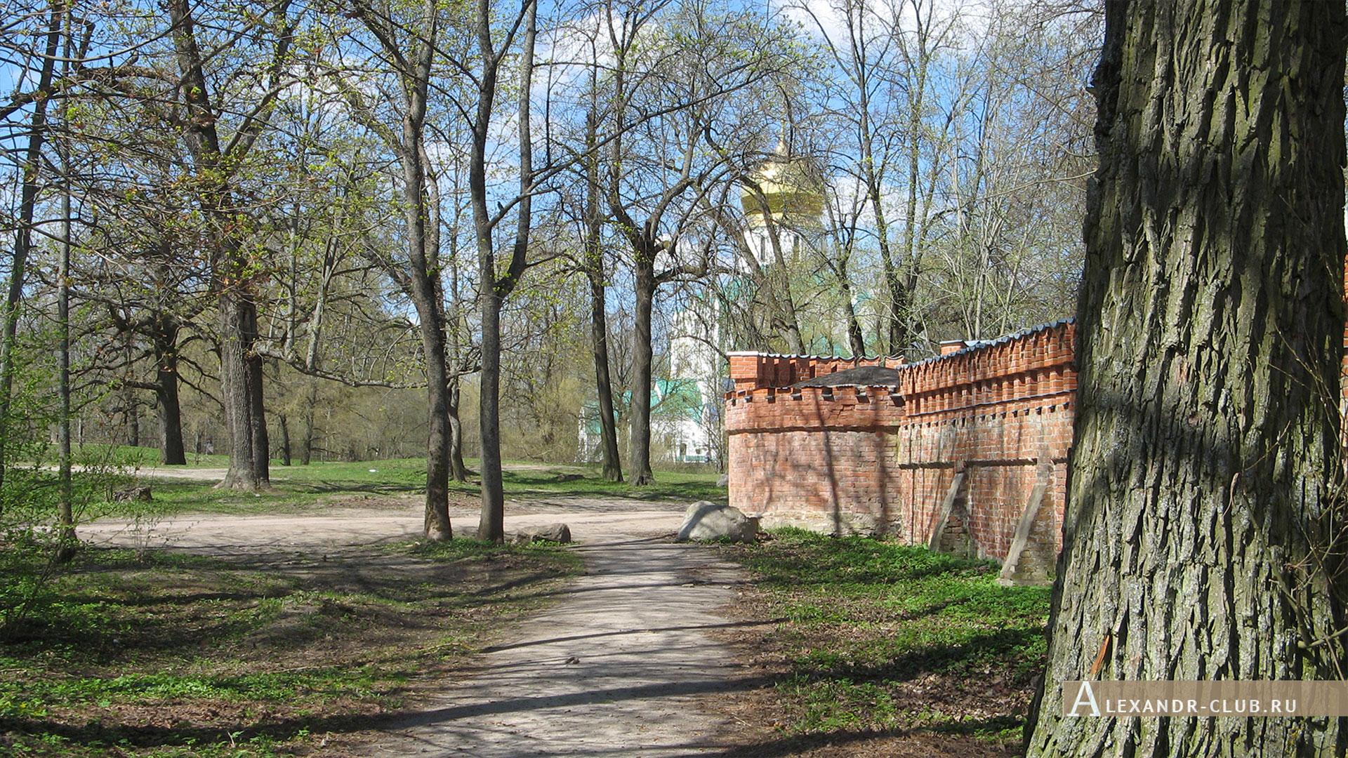Царское Село, весна, Федоровский городок, Феодоровский собор