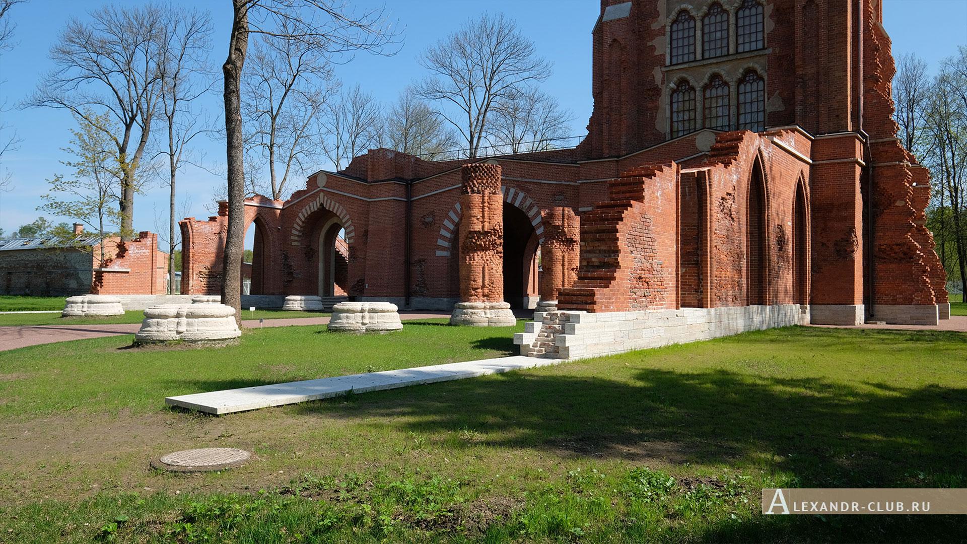Царское Село, Александровский парк, весна, Шапель