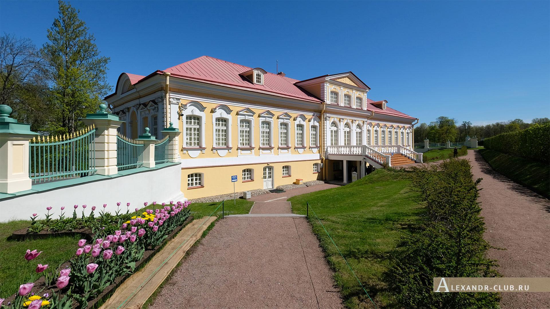 Ораниенбаум, весна, музей «Картинный дом»