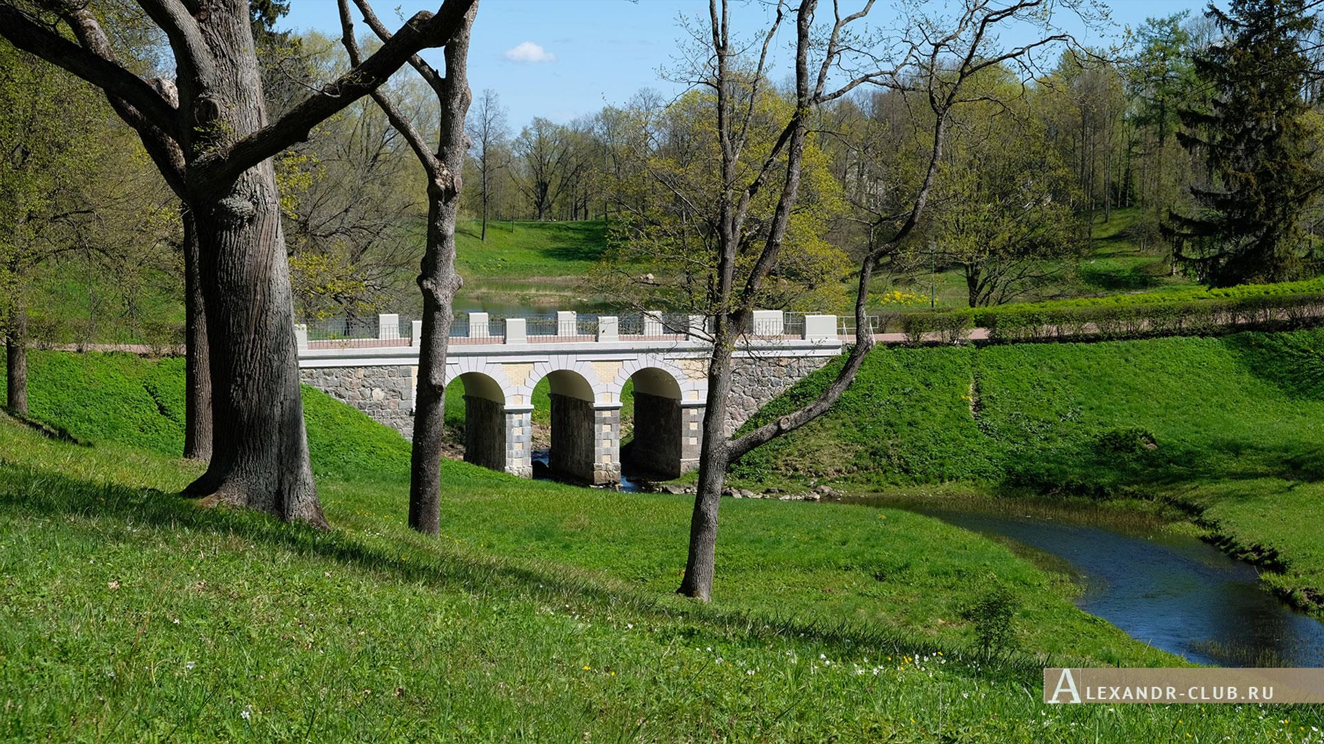 Ораниенбаум, весна, Петровский мост