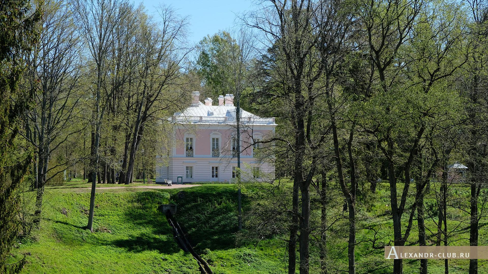 Ораниенбаум, весна, Дворец Петра III