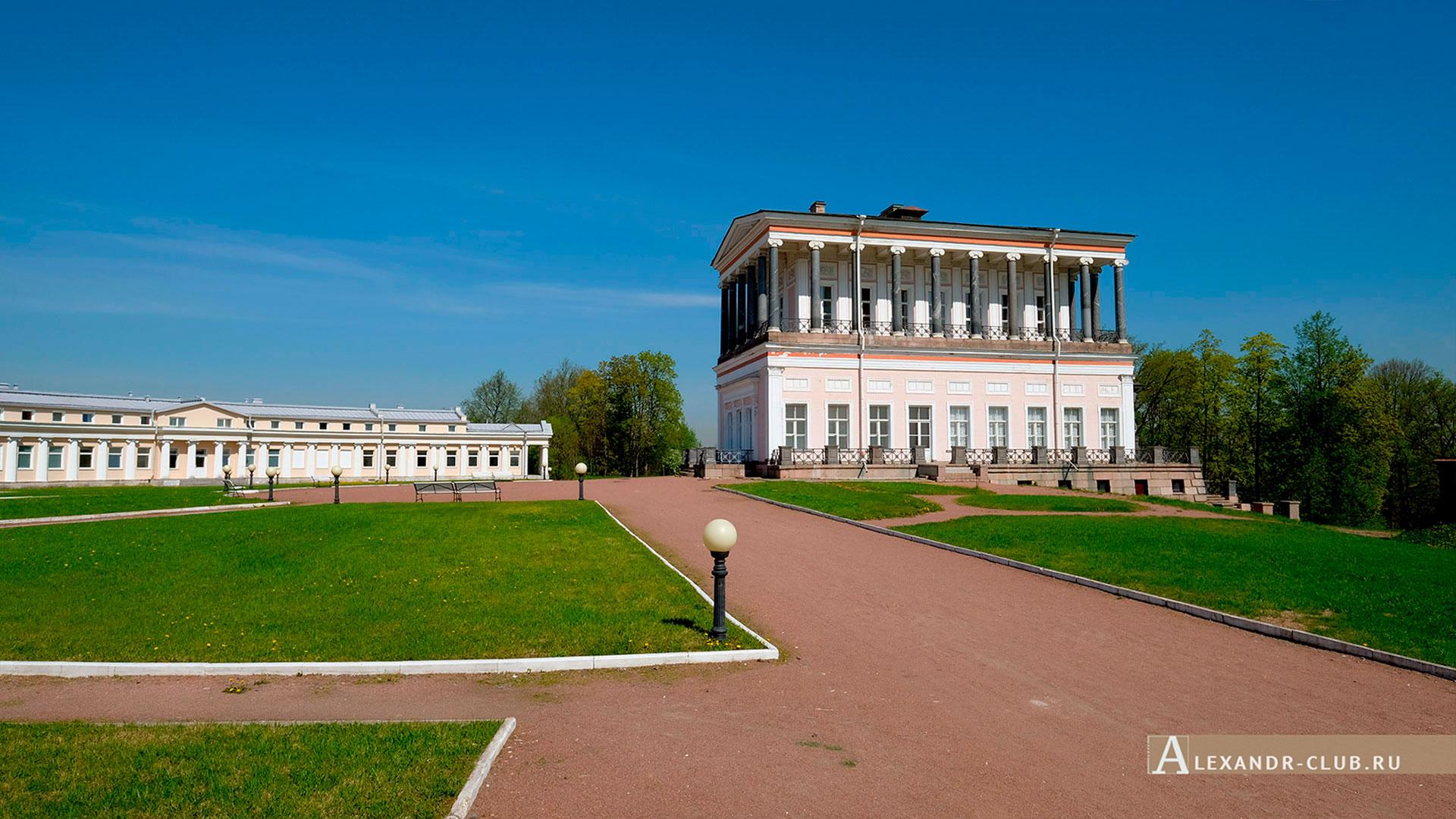 Петергоф, Луговой парк, весна, дворец Бельведер – 1