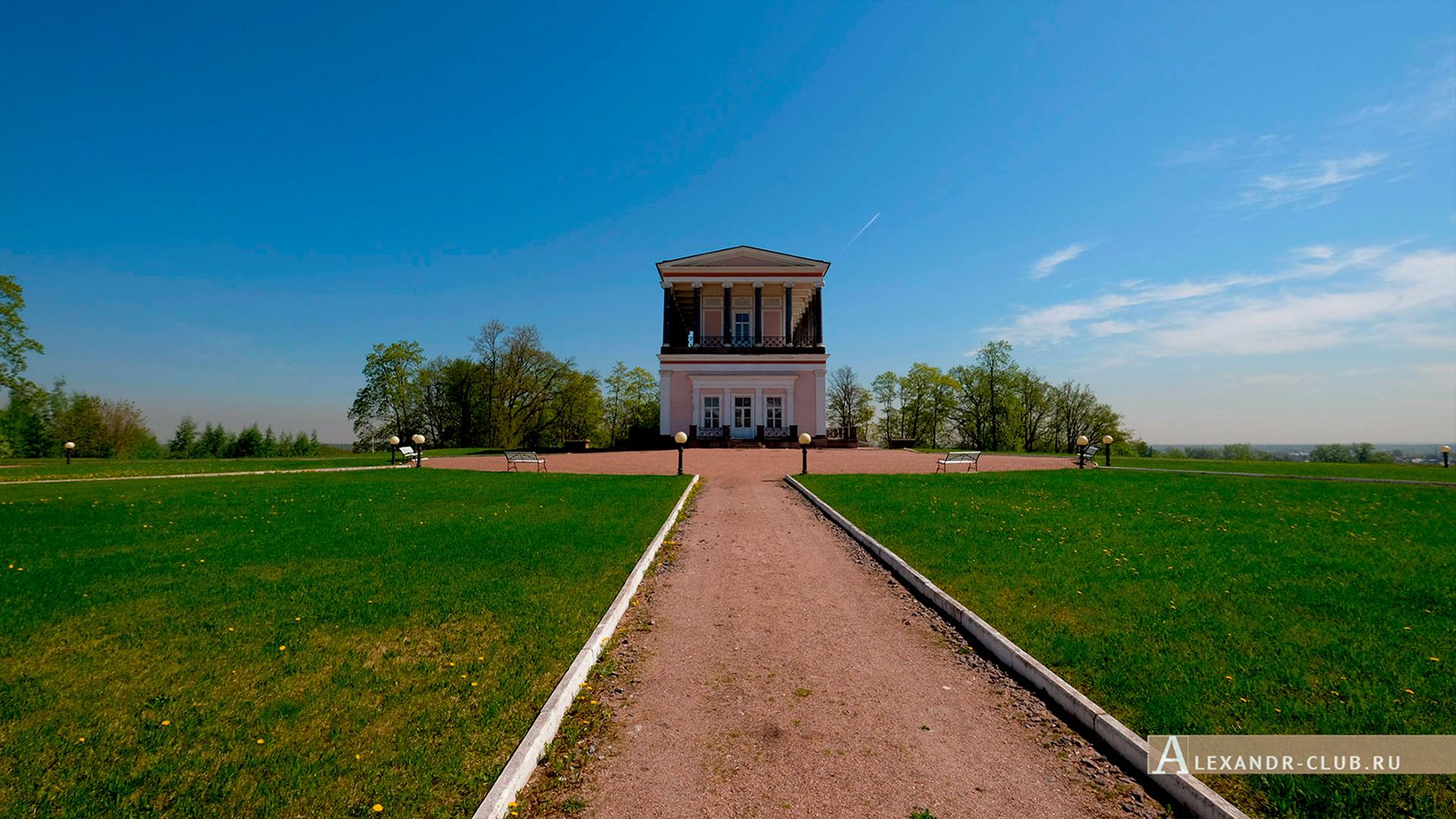 Петергоф, Луговой парк, весна, дворец Бельведер – 2