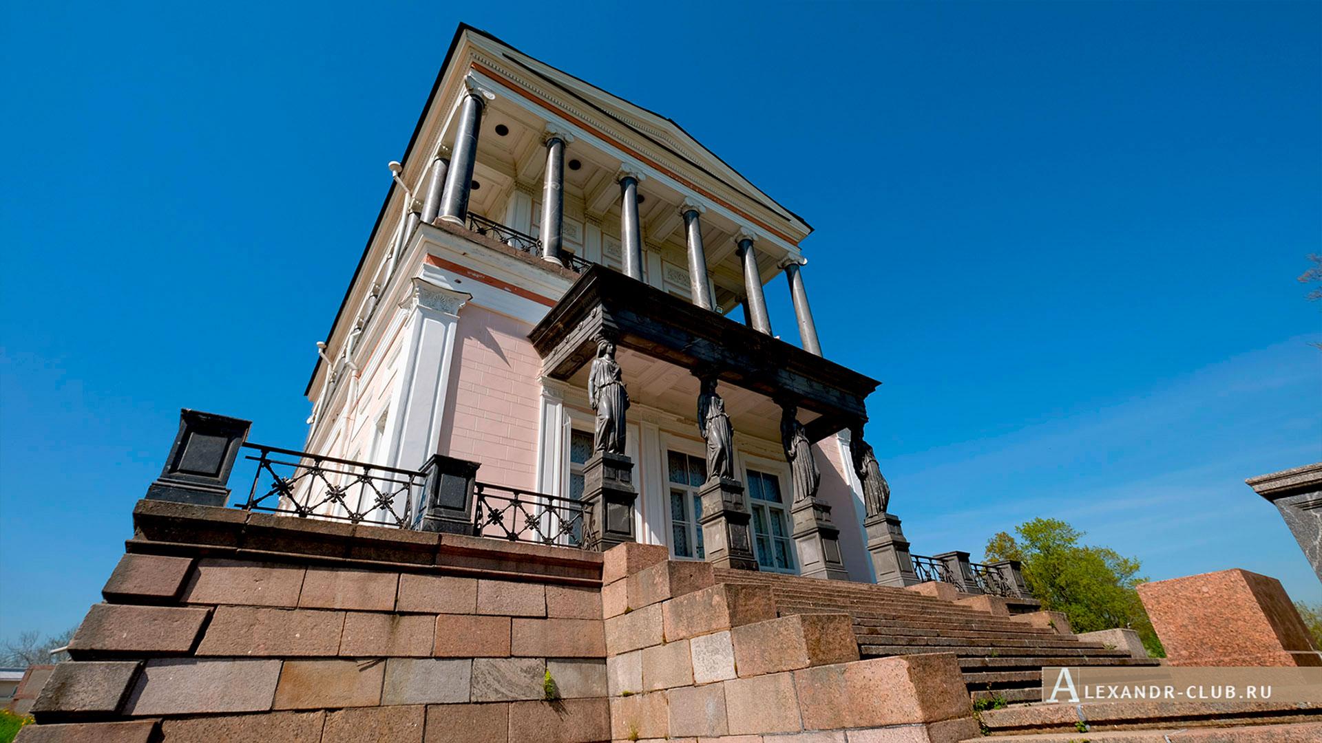 Петергоф, Луговой парк, весна, дворец Бельведер – 3