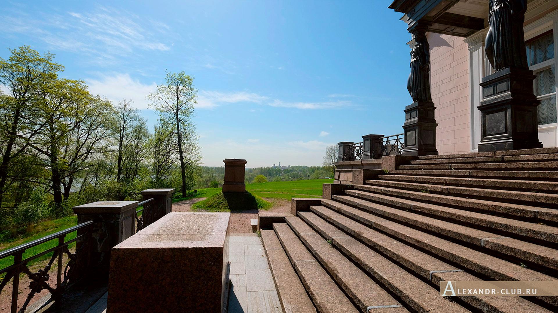 Петергоф, Луговой парк, весна, дворец Бельведер – 5