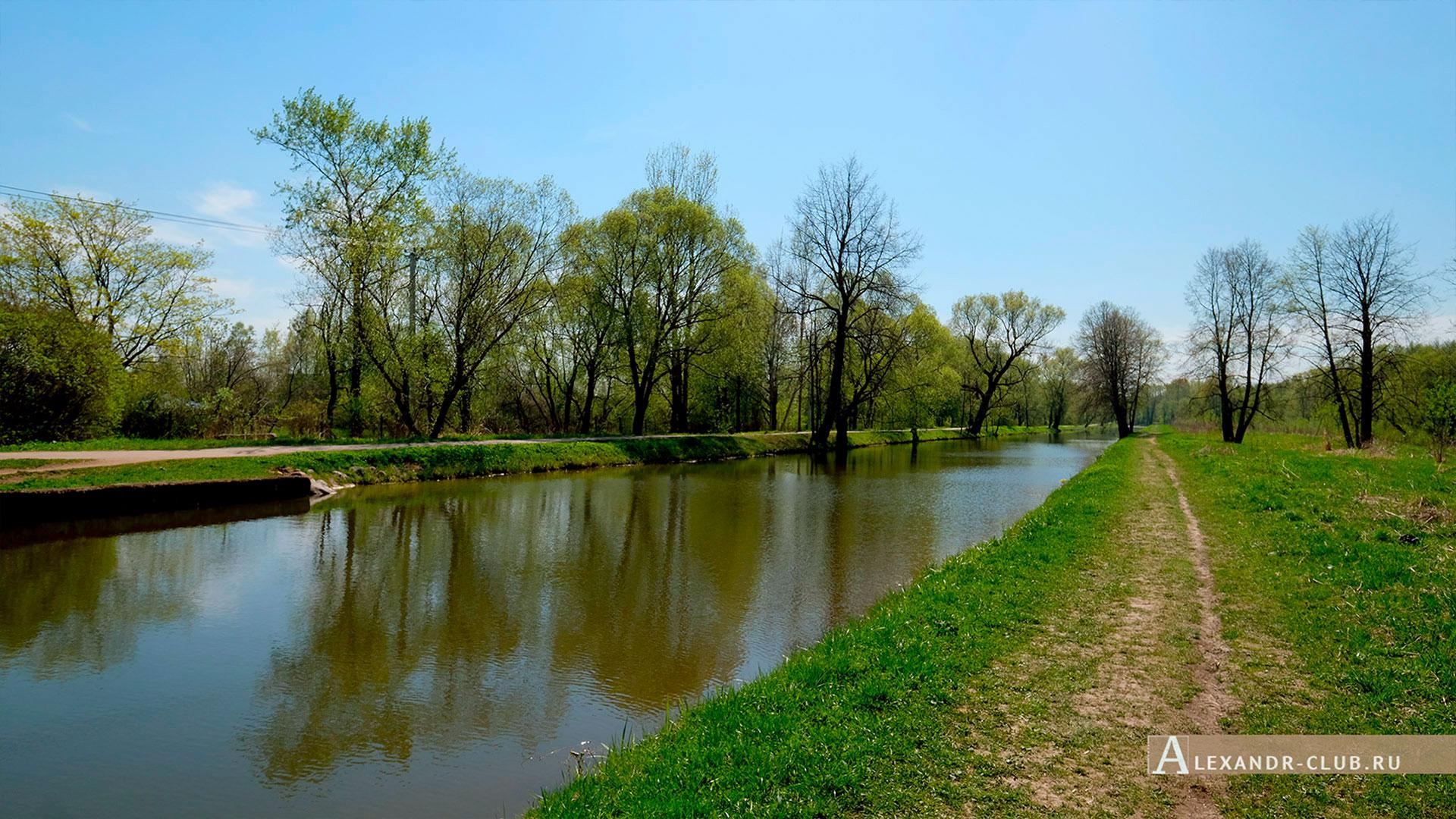 Петергоф, Луговой парк, весна, Старопетергофский канал – 1