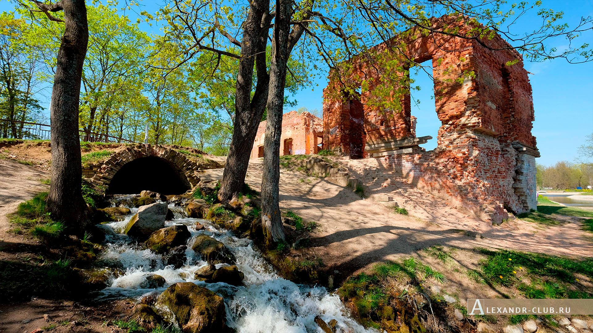 Петергоф, Луговой парк, весна, Розовый павильон – 1