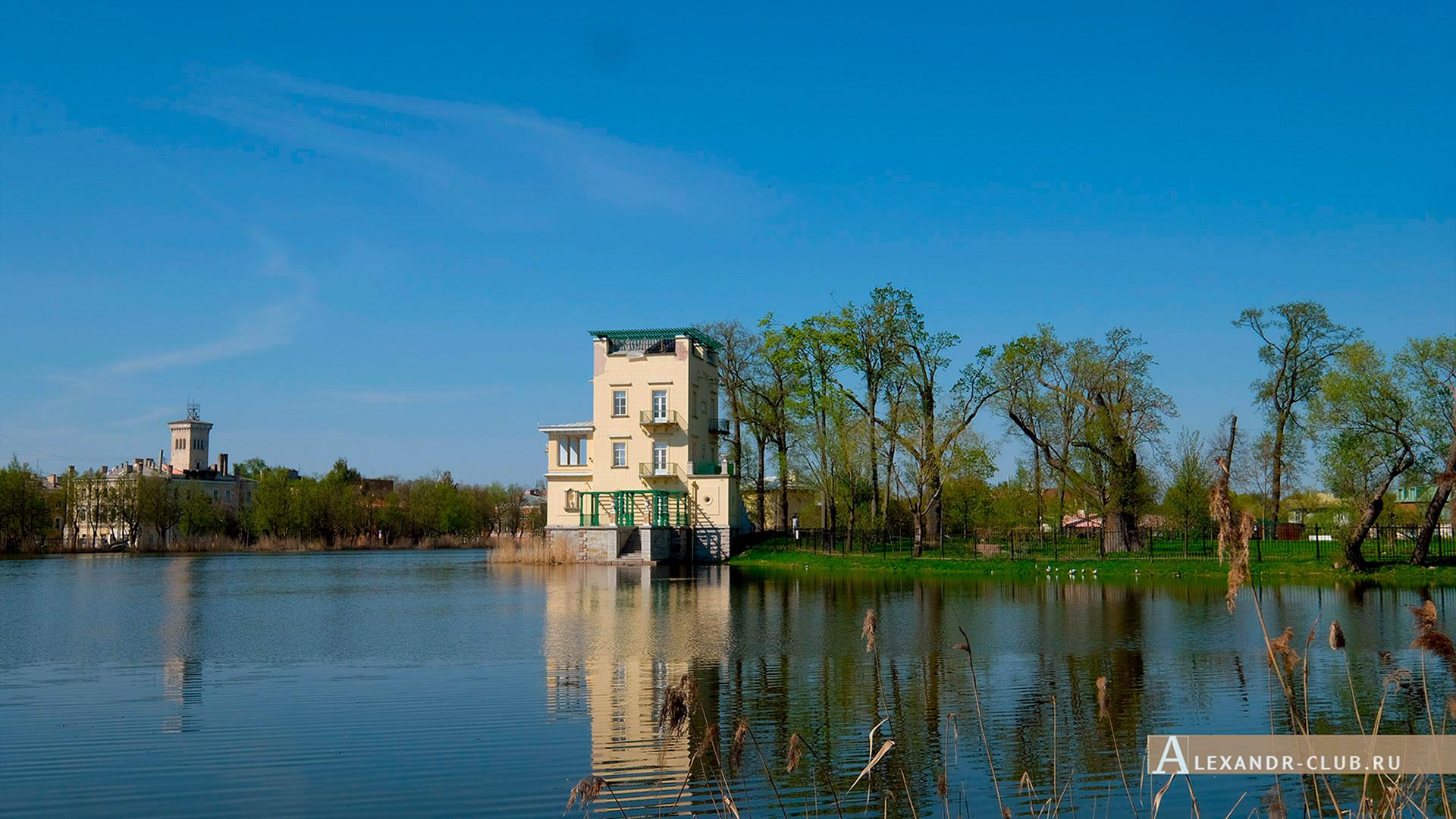 Петергоф, Колонистский парк, весна, Ольгин павильон – 2