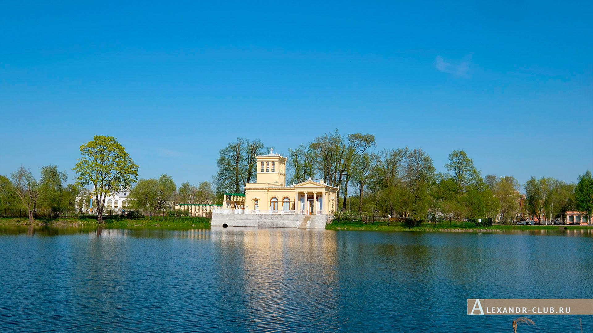 Петергоф, Колонистский парк, весна, Царицын павильон – 1