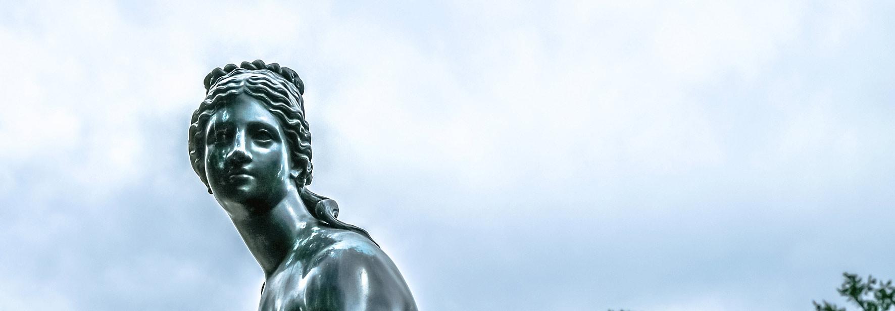 Голова статуи Венеры, Царское Село