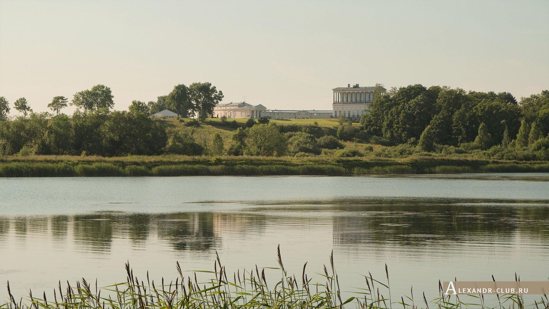 Петергоф, Луговой парк, лето, дворец Бельведер
