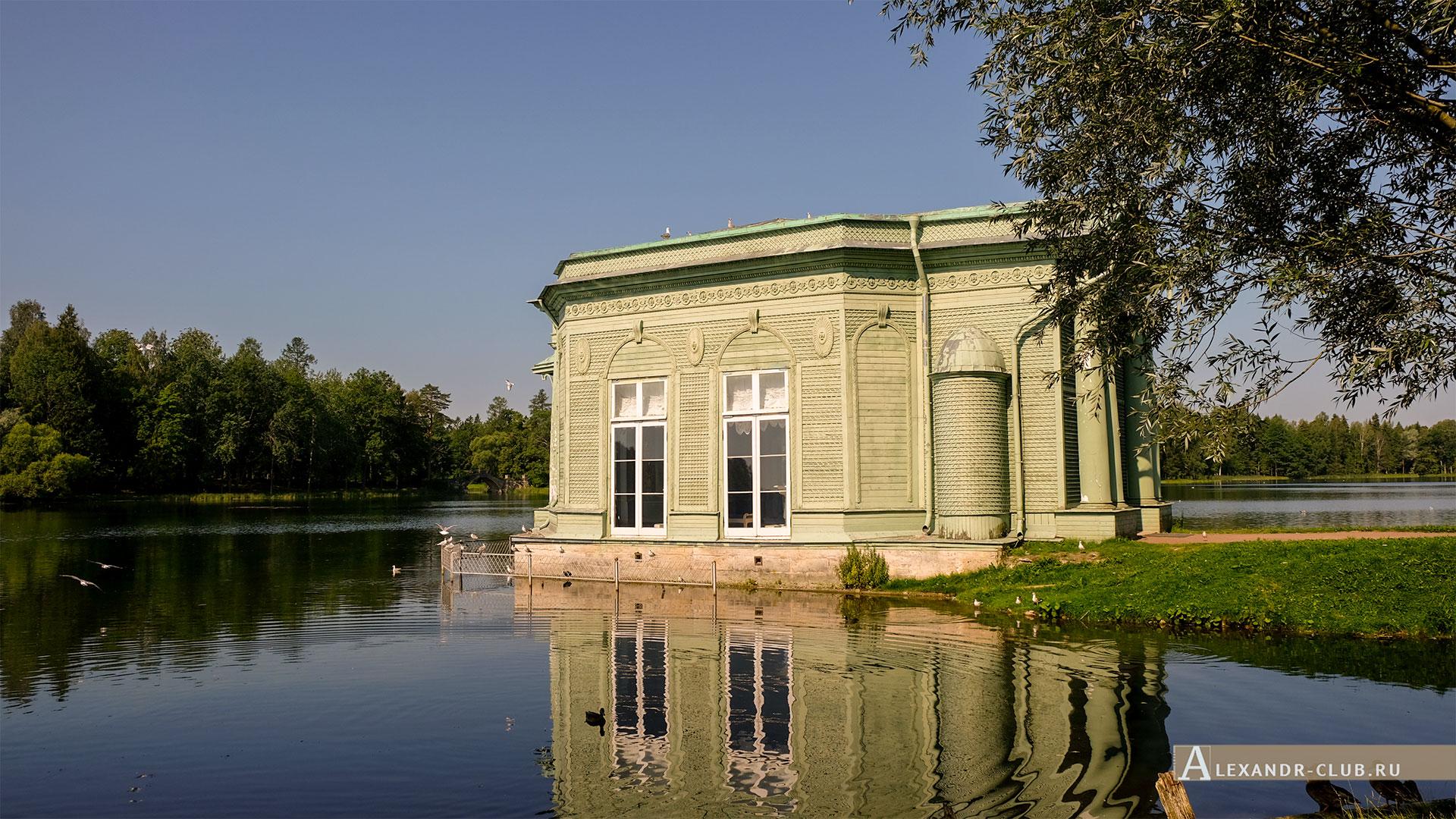 Гатчинский парк, лето, Павильон Венеры