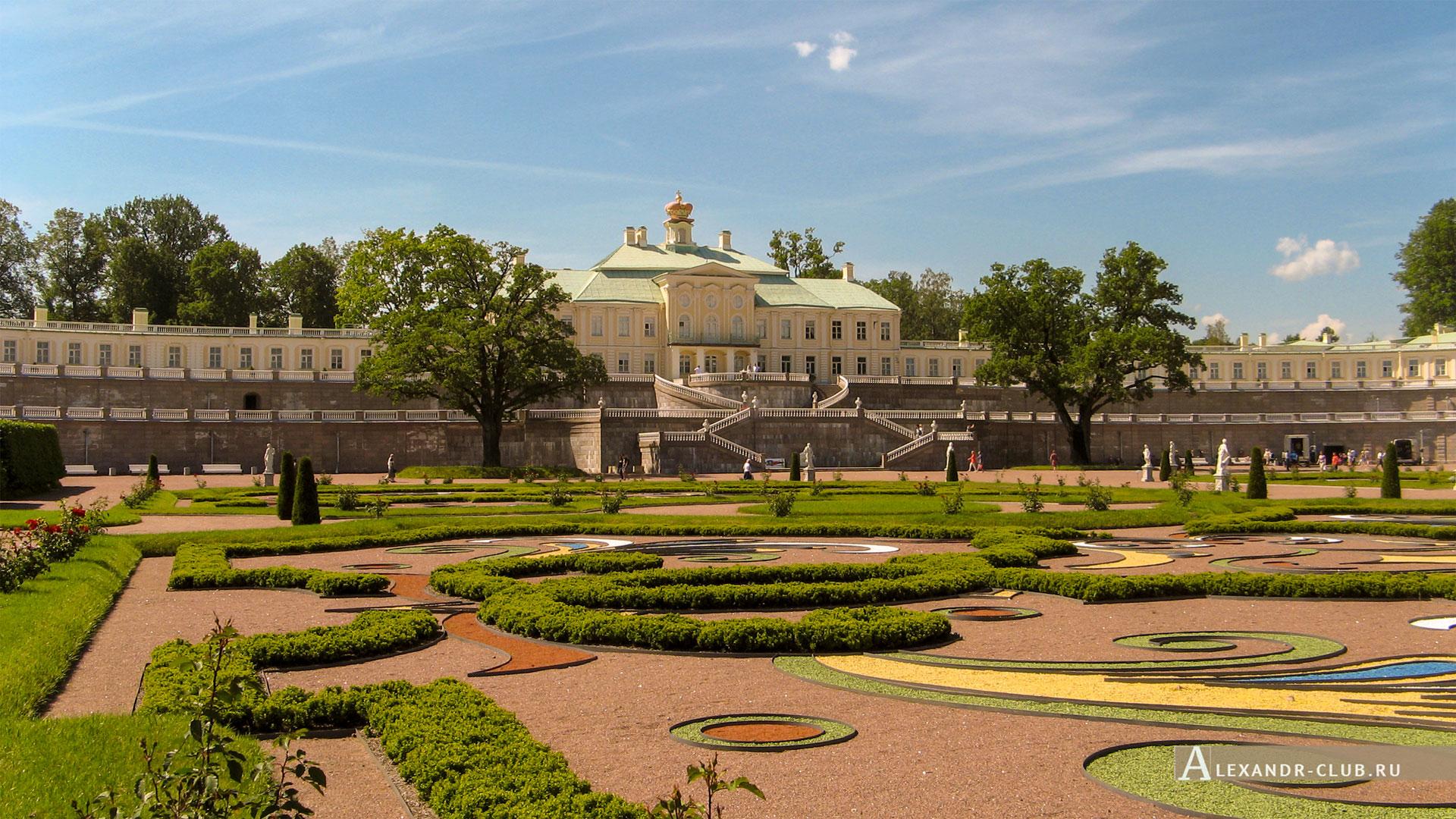 Ораниенбаум, лето, Большой Меншиковский дворец