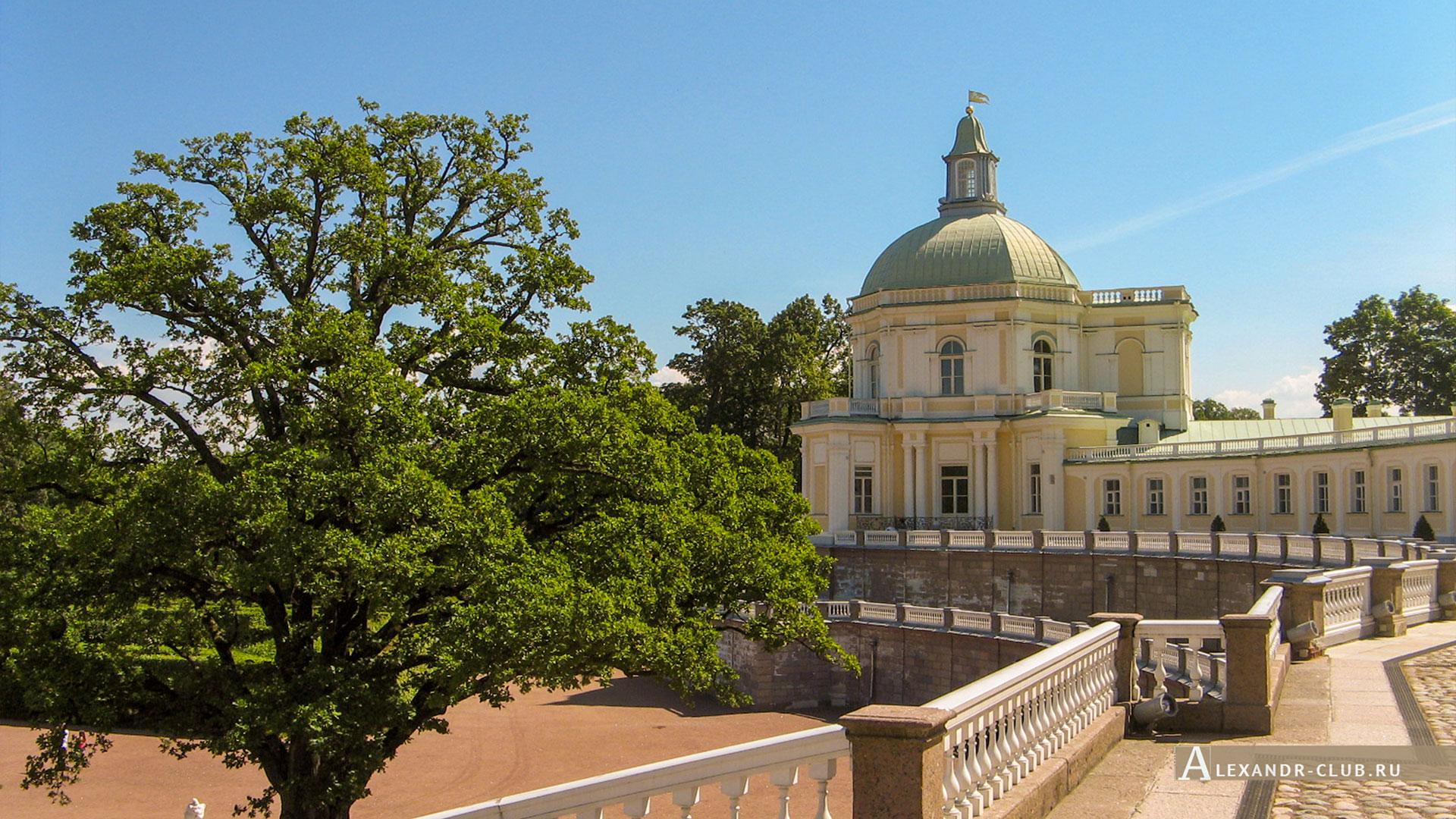 Ораниенбаум, лето, Большой Меншиковский дворец, Японский павильон