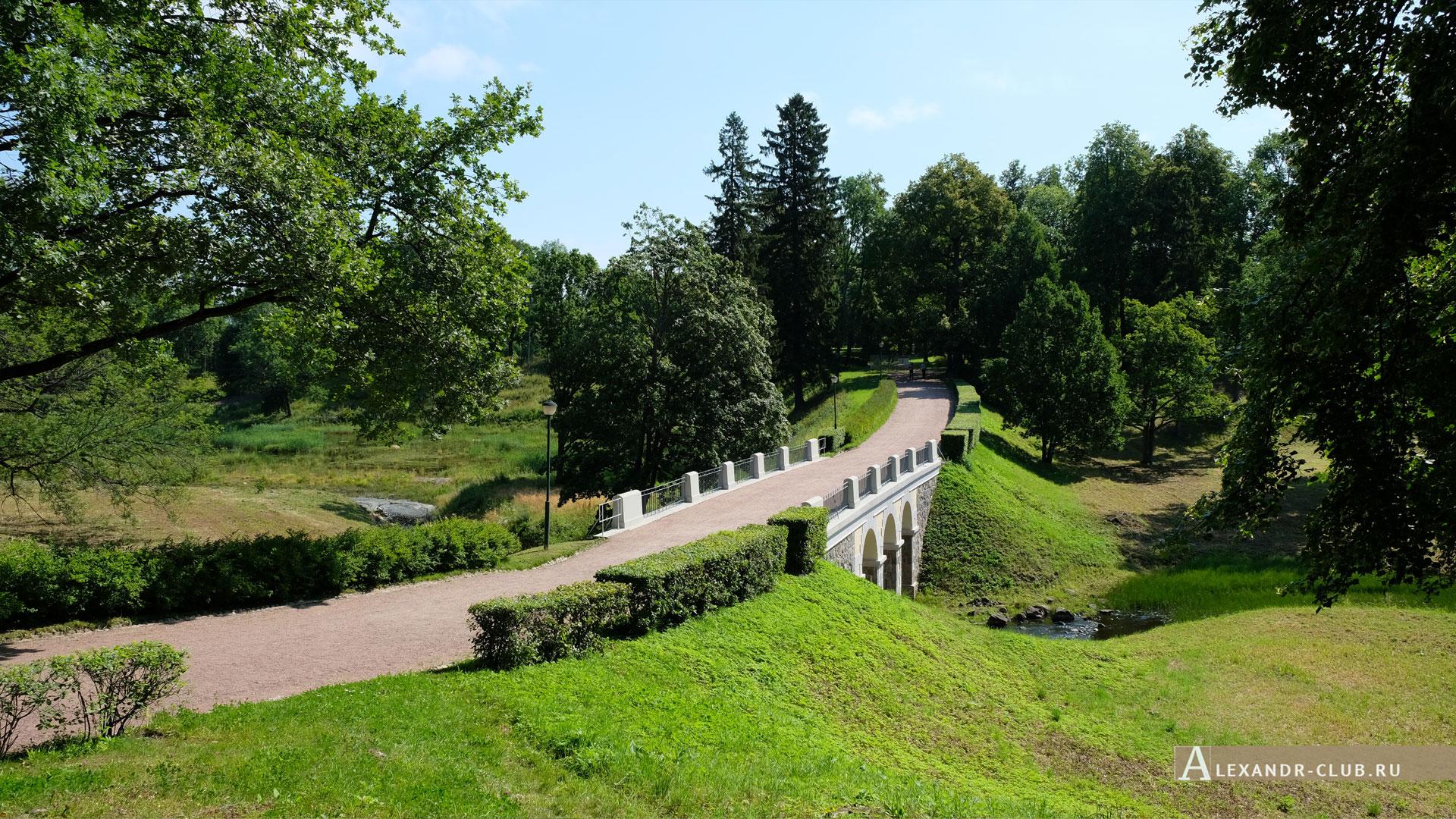 Ораниенбаум, лето, Петровский мост