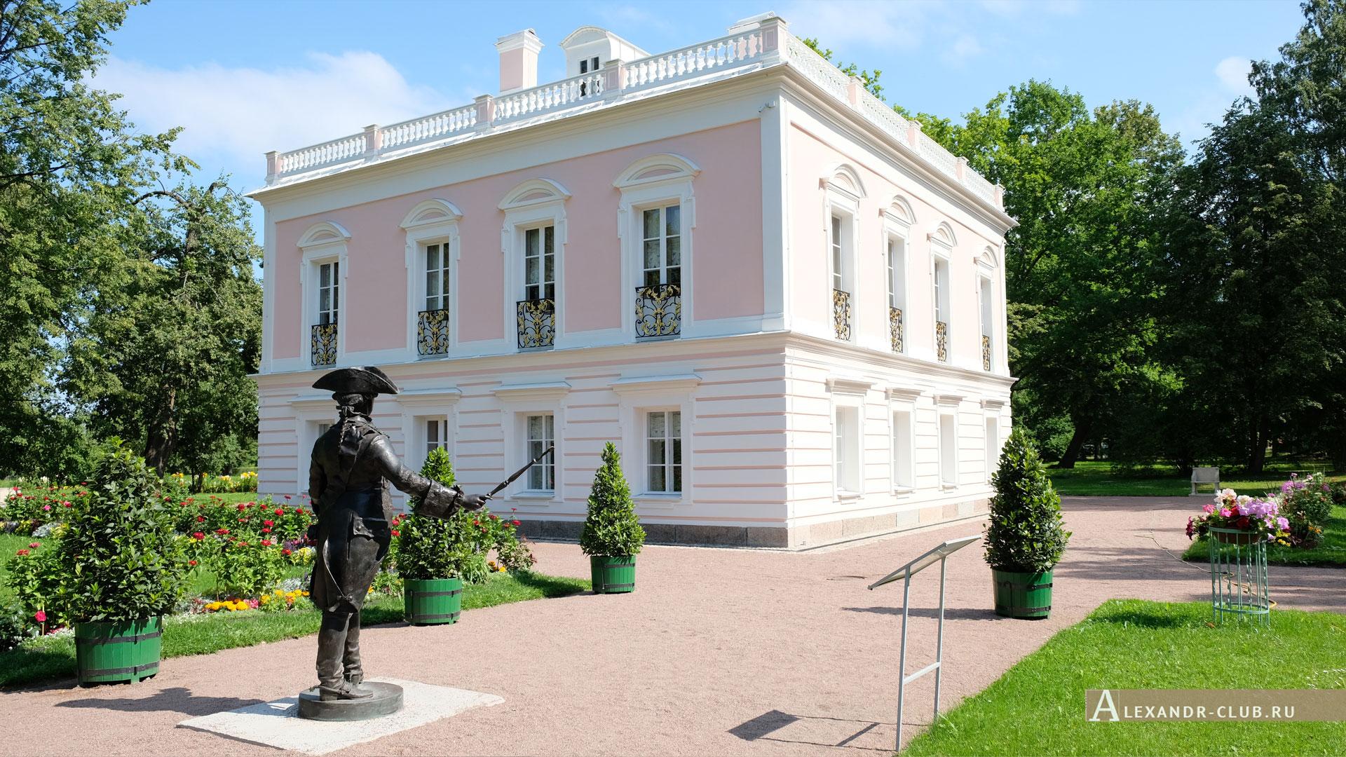 Ораниенбаум, лето, Дворец Петра III