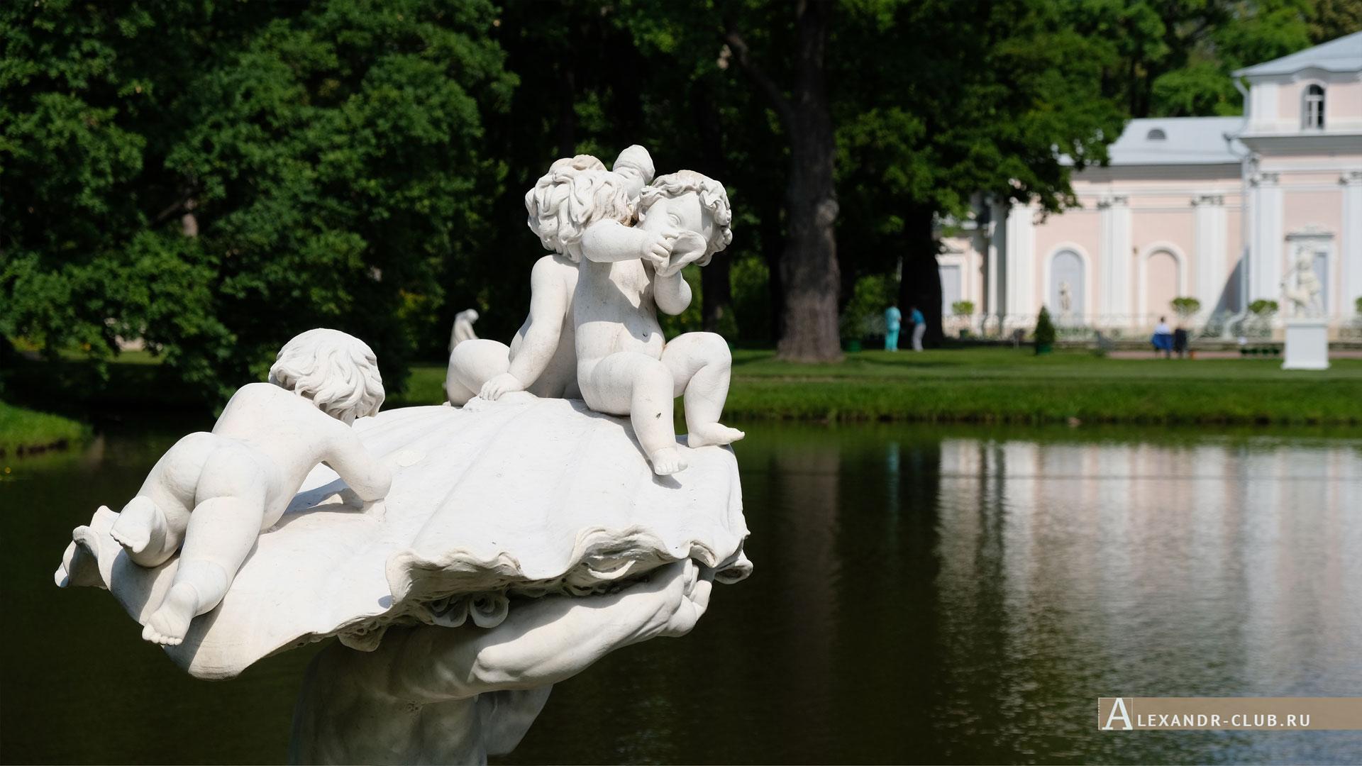 Ораниенбаум, лето, Китайский пруд, Китайский дворец