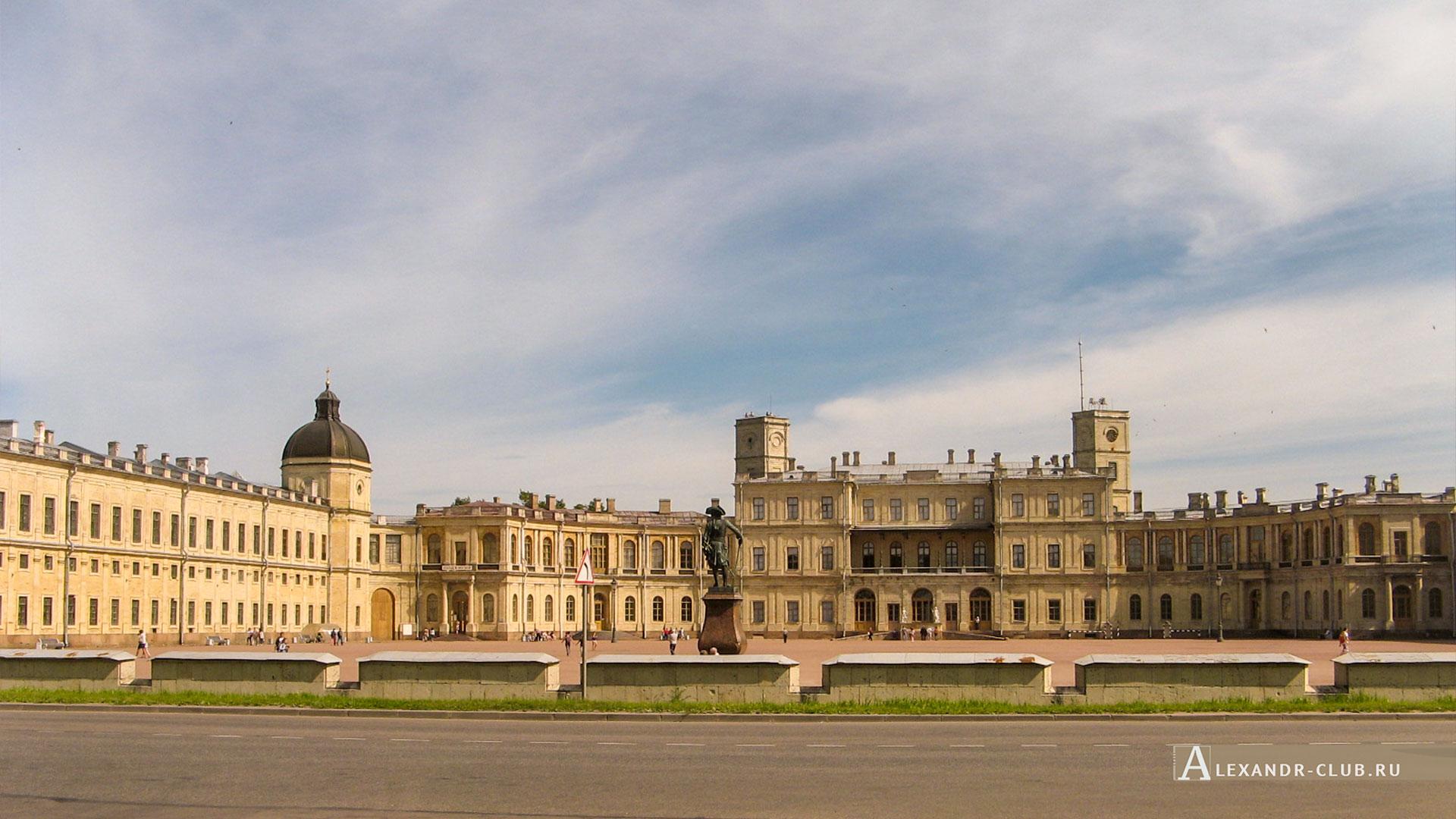 Гатчина, осень, Гатчинский дворец