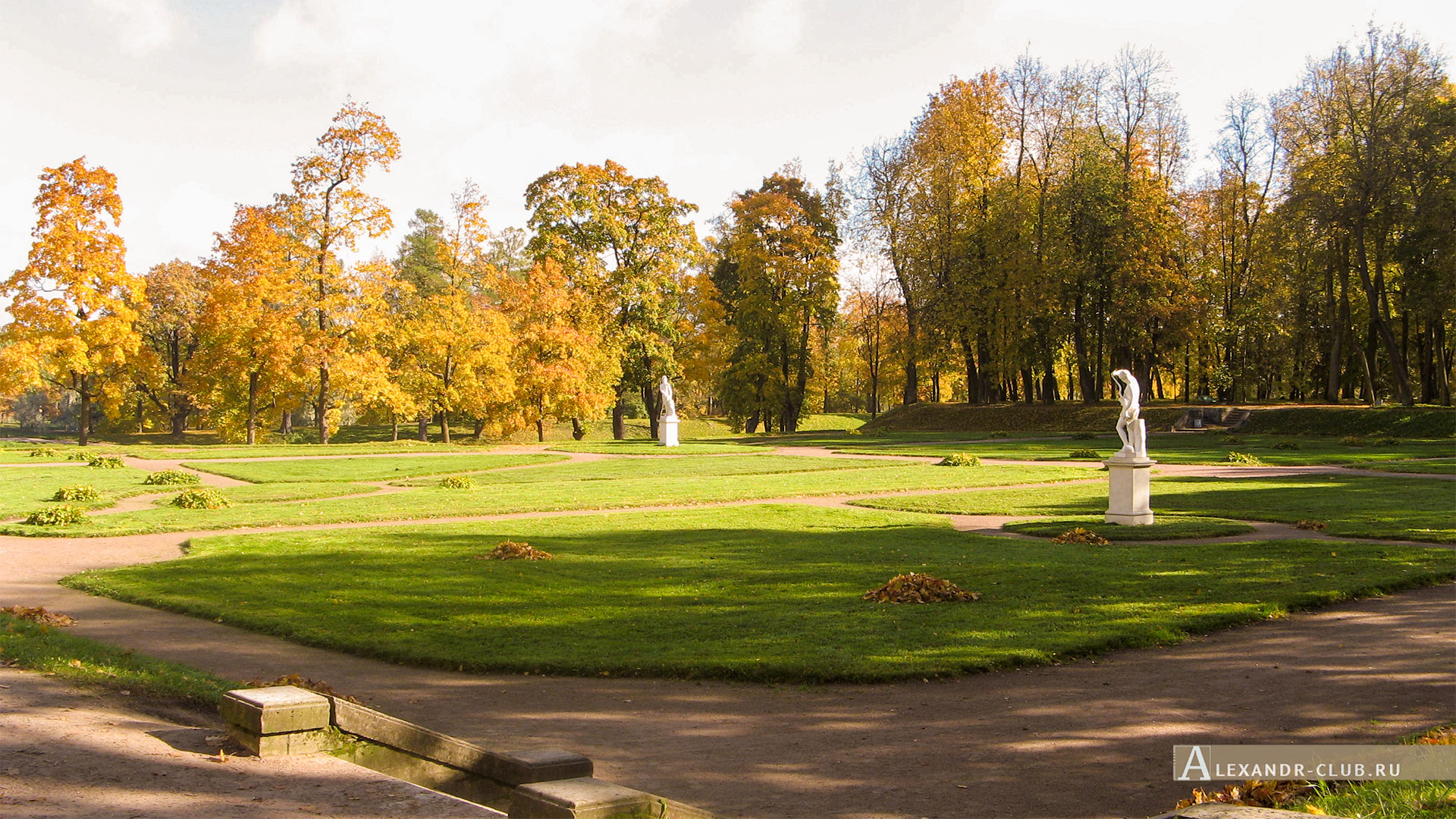 Гатчина, Гатчинский парк, осень, Нижний Голландский сад