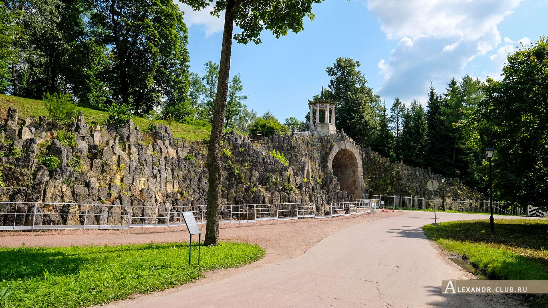 Царское Село, лето, Александровский парк, Большой каприз