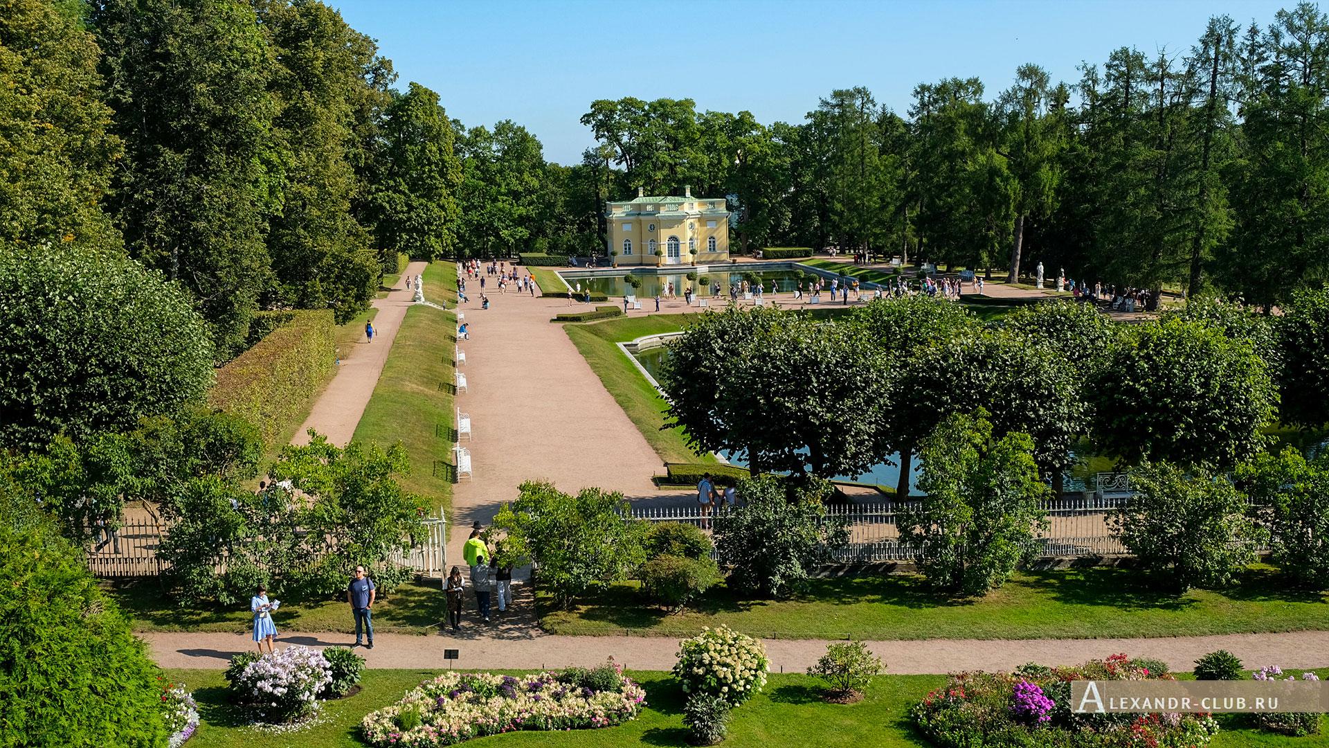 Царское Село, лето, Екатерининский парк, павильон «Верхняя ванна»