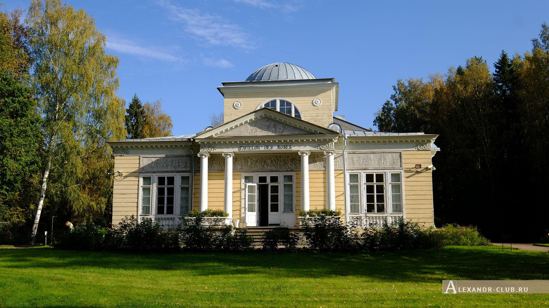 Павловск, осень, Павловский парк, Розовый павильон